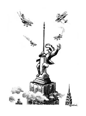 New Yorker June 16th, 1997 Poster by Eldon Dedini