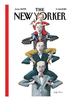 New Yorker June 19th, 1995 Poster by Kathy Osborn