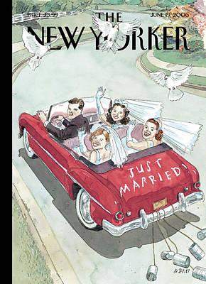 New Yorker June 19th, 2006 Poster by Barry Blitt
