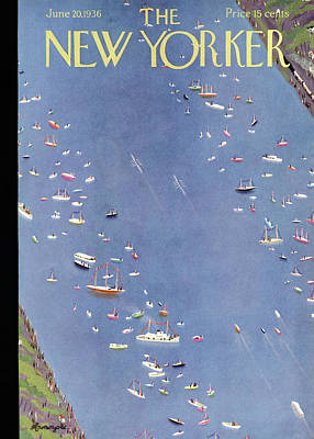 New Yorker June 20th, 1936 Poster