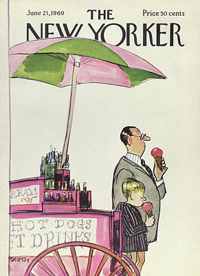 New Yorker June 21st, 1969 Poster by Charles Saxon