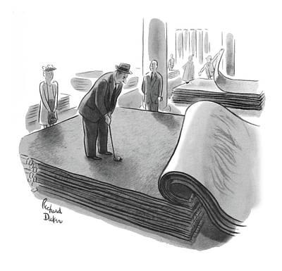 New Yorker June 25th, 1955 Poster by Richard Decker