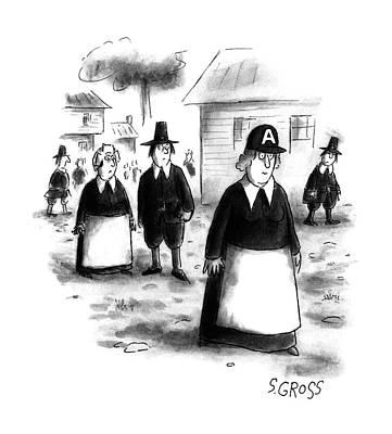 New Yorker June 26th, 1995 Poster by Sam Gross