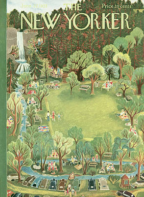New Yorker June 27th, 1953 Poster