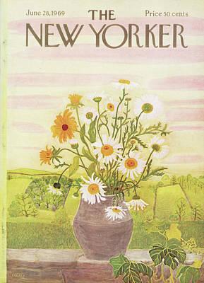 New Yorker June 28th, 1969 Poster by Ilonka Karasz