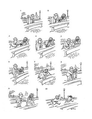 New Yorker June 2nd, 1962 Poster by Eldon Dedini