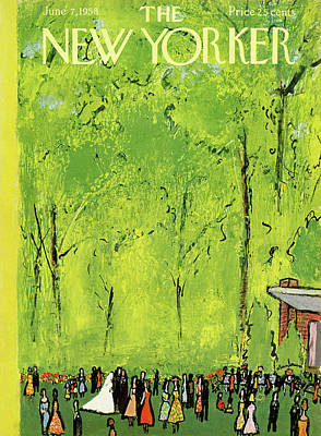 New Yorker June 7th, 1958 Poster by Abe Birnbaum