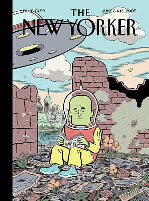 New Yorker June 8th, 2009 Poster by Dan Clowes