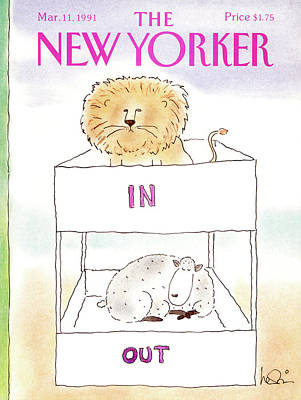 New Yorker March 11th, 1991 Poster by Arnie Levin