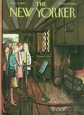 New Yorker March 23rd, 1963 Poster by Arthur Getz