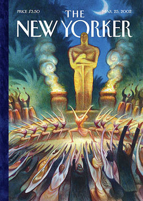 New Yorker March 25th, 2002 Poster