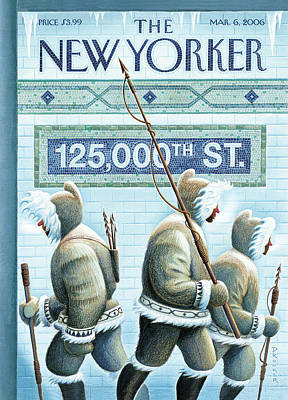 New Yorker March 6th, 2006 Poster