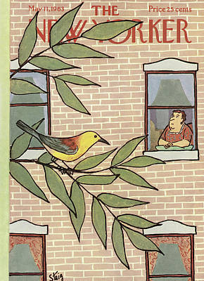 New Yorker May 11th, 1963 Poster by William Steig