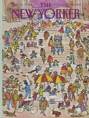 New Yorker May 21st, 1984 Poster