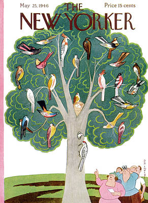 New Yorker May 25th, 1946 Poster by Rea Irvin
