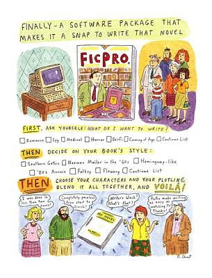 New Yorker May 27th, 1996 Poster by Roz Chast