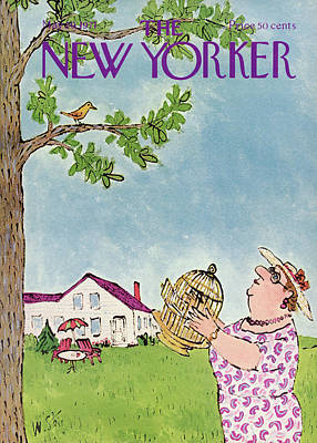 New Yorker May 29th, 1971 Poster by William Steig