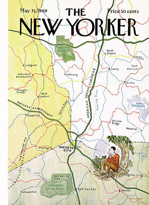 New Yorker May 31st, 1969 Poster by James Stevenson