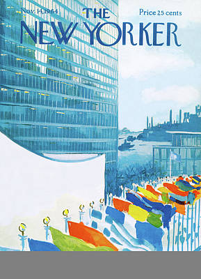 New Yorker November 14th, 1964 Poster