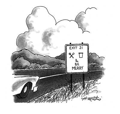 New Yorker November 14th, 1994 Poster