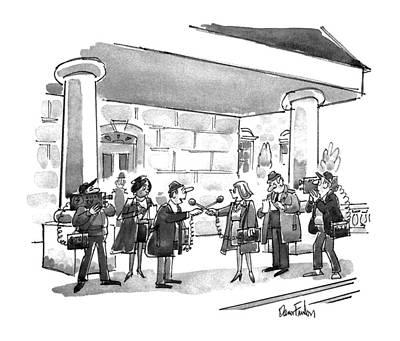 New Yorker November 18th, 1991 Poster by Dana Fradon
