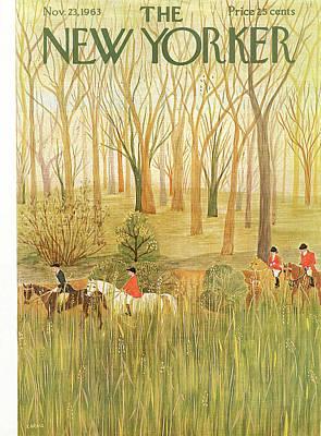 New Yorker November 23rd, 1963 Poster by Ilonka Karasz