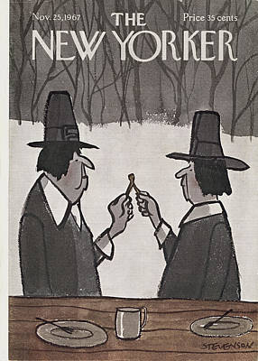 New Yorker November 25th, 1967 Poster