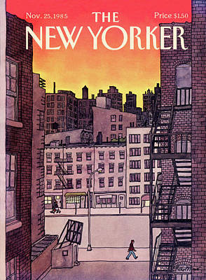 New Yorker November 25th, 1985 Poster by Roxie Munro