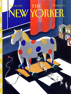 New Yorker November 25th, 1991 Poster by Kathy Osborn