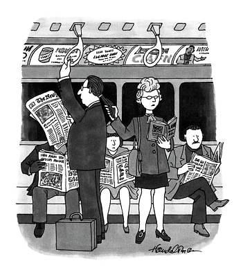 New Yorker November 28th, 1994 Poster by J.B. Handelsman