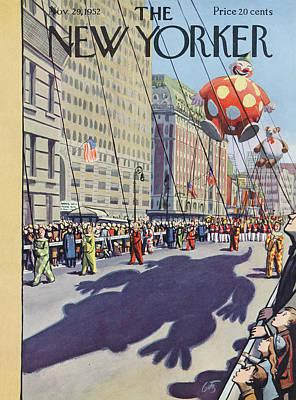 New Yorker November 29th, 1952 Poster