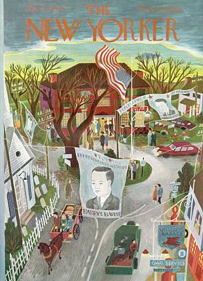 New Yorker November 2nd, 1946 Poster