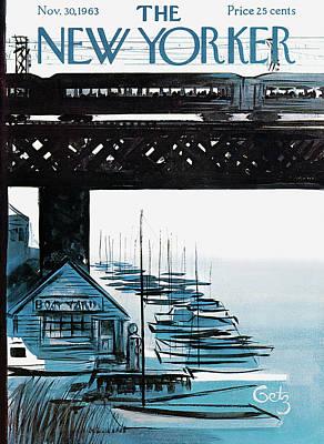 New Yorker November 30th, 1963 Poster by Arthur Getz