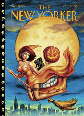 New Yorker November 6th, 2000 Poster by Owen Smith