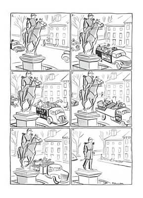New Yorker November 7th, 1942 Poster by Roger Duvoisin