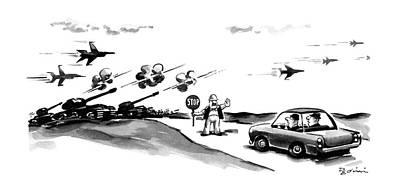 New Yorker November 9th, 1987 Poster by Eldon Dedini