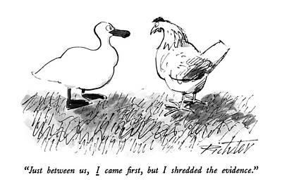 New Yorker November 9th, 1987 Poster by Mischa Richter