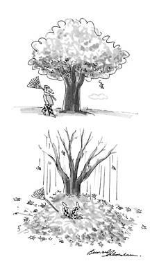 New Yorker October 17th, 1988 Poster by Bernard Schoenbaum