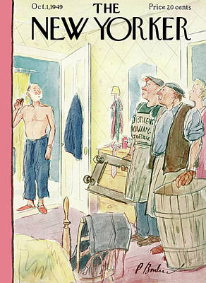 New Yorker October 1st, 1949 Poster