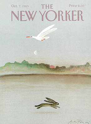 New Yorker October 7th, 1985 Poster by Andre Francois