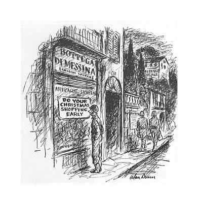New Yorker September 11th, 1943 Poster by Alan Dunn