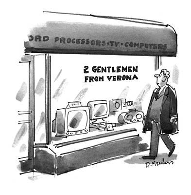 New Yorker September 12th, 1994 Poster by Dana Fradon