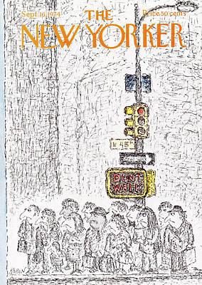 New Yorker September 16th, 1974 Poster by Edward Koren