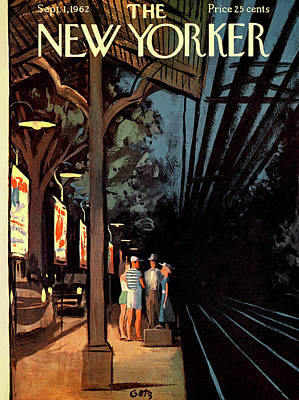 New Yorker September 1st, 1962 Poster