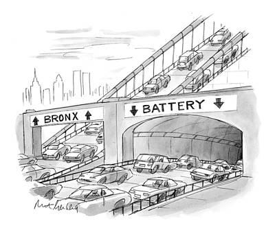 New Yorker September 20th, 1999 Poster by Mort Gerberg