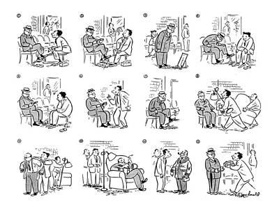 New Yorker September 23rd, 1944 Poster by Roberta Macdonald