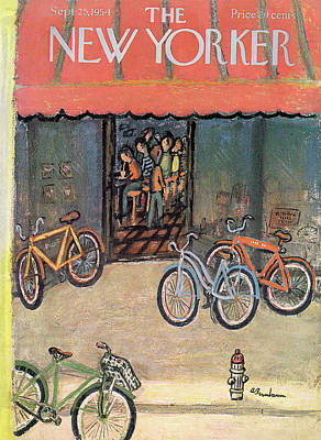 New Yorker September 25th, 1954 Poster