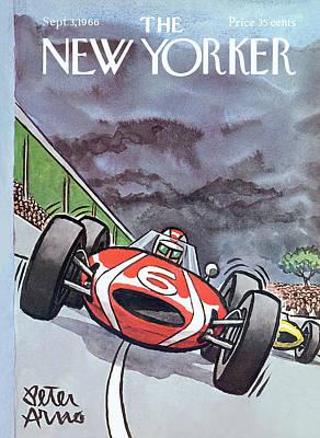 New Yorker September 3rd, 1966 Poster