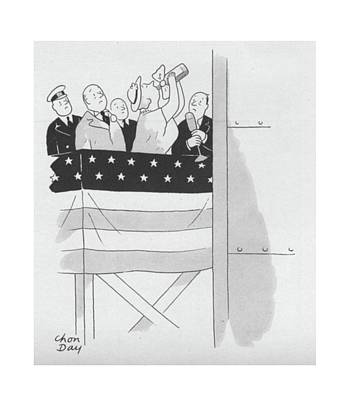 New Yorker September 4th, 1943 Poster by Chon Day