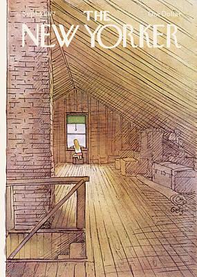 New Yorker September 5th, 1977 Poster